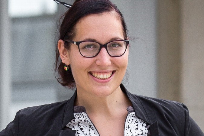 Wirtschaftsmoderatorin Valerie Lux