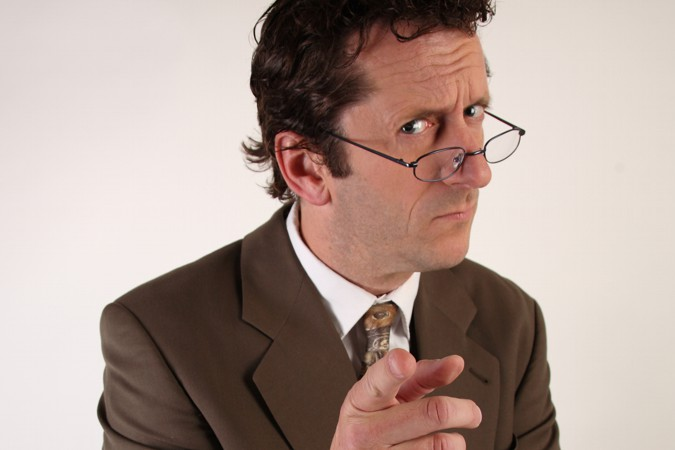 Comedyspeaker Franz Hansen